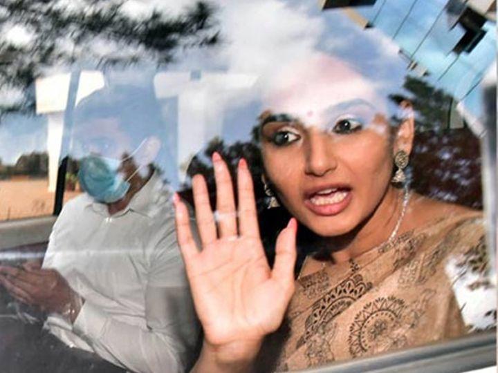 रागिनीने कन्नडमध्ये 'वीर मदाकारी', 'शंकर आयपीएस', 'व्हिलन', 'विक्ट्री' आणि 'शिवा' यासारख्या चित्रपटांमध्ये काम केले आहे. शाहिद कपूर स्टारर बॉलिवूड चित्रपट 'आर... राजकुमार' मध्ये तिने पाहुण्या कलाकाराची भूमिका साकारली होती. - Divya Marathi