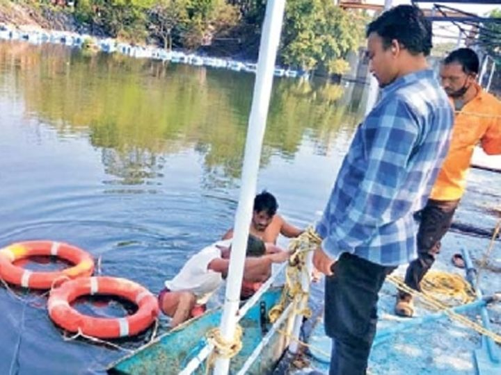 'बर्ड फ्लू'चा धोका लक्षात घेऊन जायकवाडीवर अधिकारी-कर्मचाऱ्यांची पाहणी - Divya Marathi