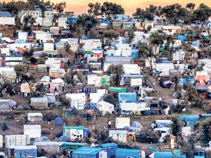 શરણાર્થીઓની શિબિર. - Divya Bhaskar