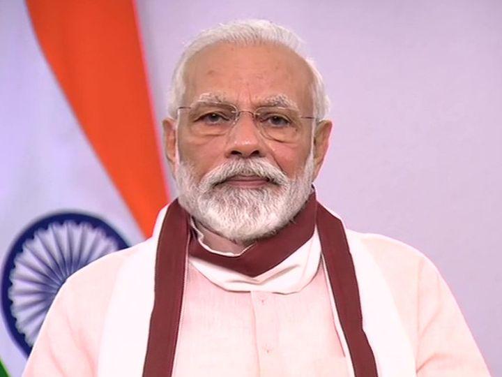 દેશને સંબોધન કરી રહેલા વડાપ્રધાન નરેન્દ્ર મોદી - Divya Bhaskar