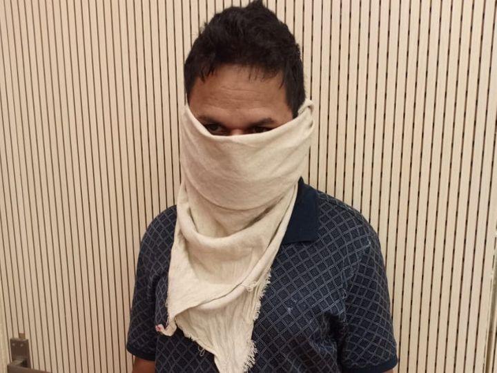 પોલીસે આરોપીની બેંગ્લોરથી ધરપકડ કરી - Divya Bhaskar