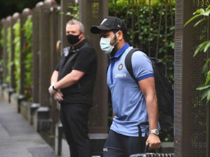 બ્રિસબેન પહોંચેલી ભારતીય ટીમ પર નજર રાખવામાં આવી રહી છે. ટીમને હોટલથી ગાબાના મેદાન સુધી જવાની મંજૂરી - Divya Bhaskar