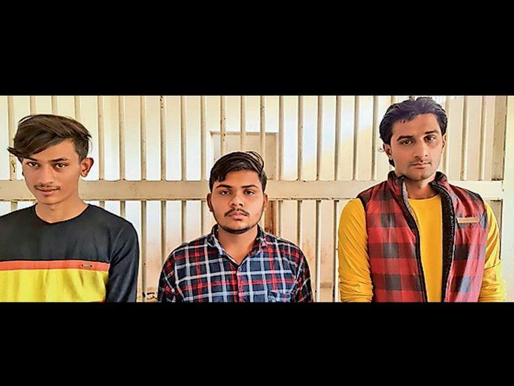 ગર્વમેન્ટ ઓફ ઇન્ડિયાના આઇકાર્ડનો ઉપયોગ કરી રાજકોટના તબીબ સાથે 1.50 લાખનો તોડ કરનાર ત્રિપુટી પોલીસ સકંજામાં. - Divya Bhaskar