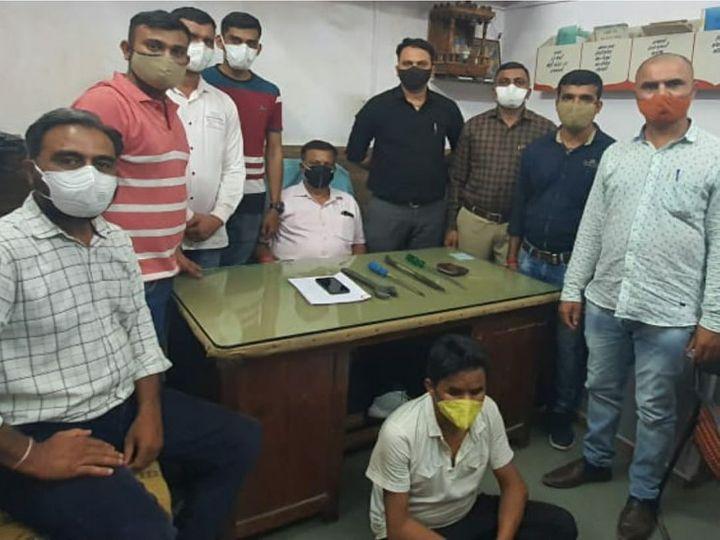 રેલવે પોલીસે એક શખ્સની ધરપકડ કરી. - Divya Bhaskar