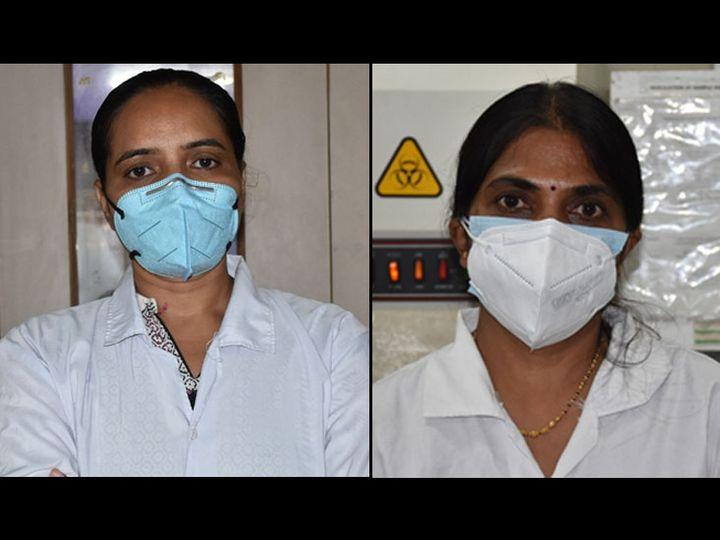 વર્ષાબેન પટેલ અને દિવ્યાબેન પટેલ - Divya Bhaskar