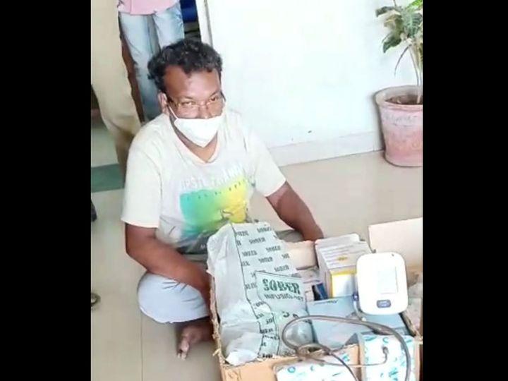 ગોયાવાંટ ગામેથી નકલી ડોકટર ઝડપાયો હતો. - Divya Bhaskar