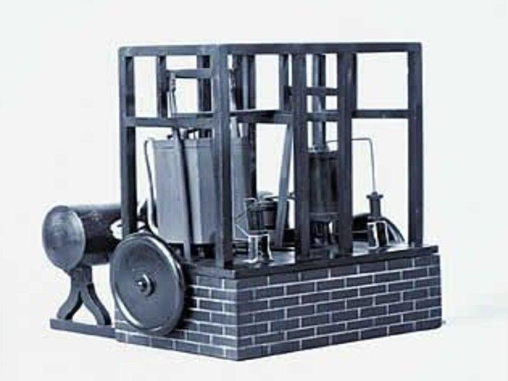 जॉन गोरी द्वारा तैयार बर्फ बनाने की मशीन कुछ इस तरह दिखती थी।