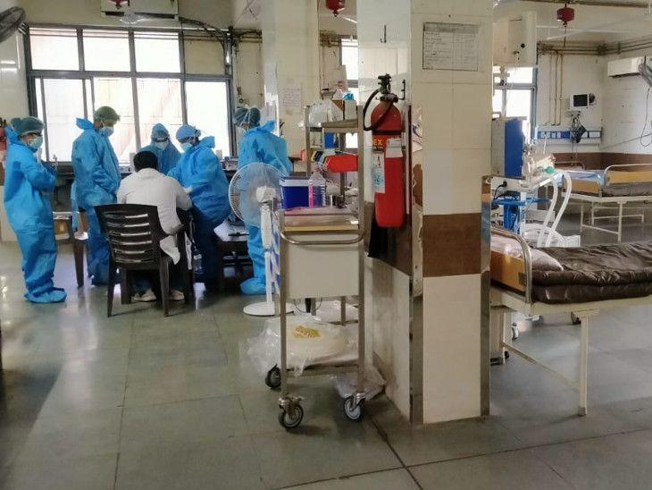નેગેટિવ દર્દીને બિન જરૂરી રીતે કોવિડ વોર્ડના વાતાવરણમાં જતા અટકાવી શકાય છે
