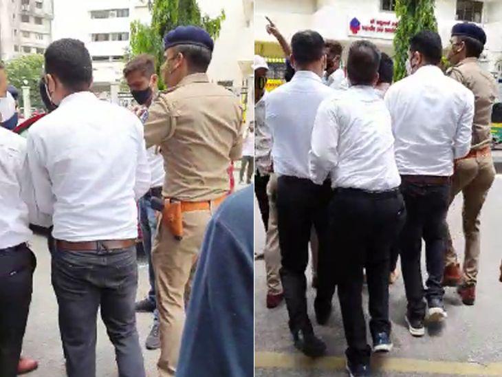પોલીસ ચિરાગને તાત્કાલિક પકડીને બહાર લઈ ગઈ હતી