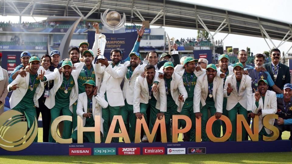 ભારતીય ટીમને હરાવી 2017માં પાકિસ્તાને ચેમ્પિયન્સ ટ્રોફી જીતી હતી.