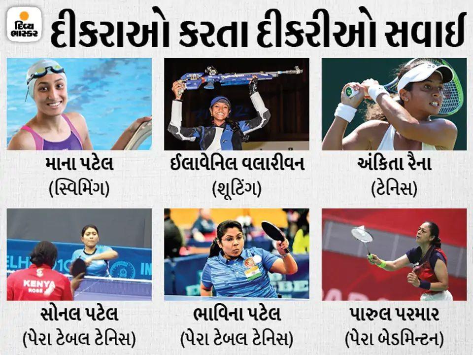 ગુજરાતમાંથી ઓલિમ્પિક-પેરાલિમ્પિકમાં જનારી ગુજરાતની દીકરીઓ