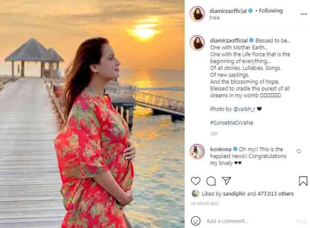 दीयानी सोमीडिया पोस्ट ने प्रेग्नेंसी की घोषणा की