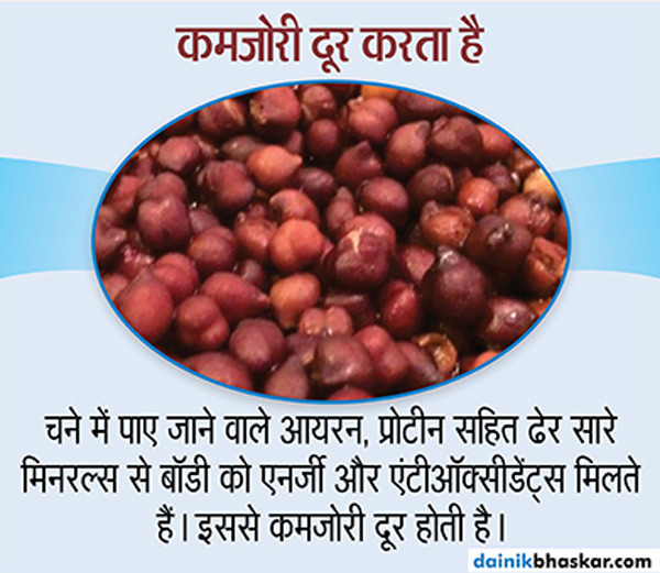 रोज सुबह खाएंगे एक मुट्ठी भीगे हुए चने, तो होंगे ये 10 फायदे  - Dainik Bhaskar