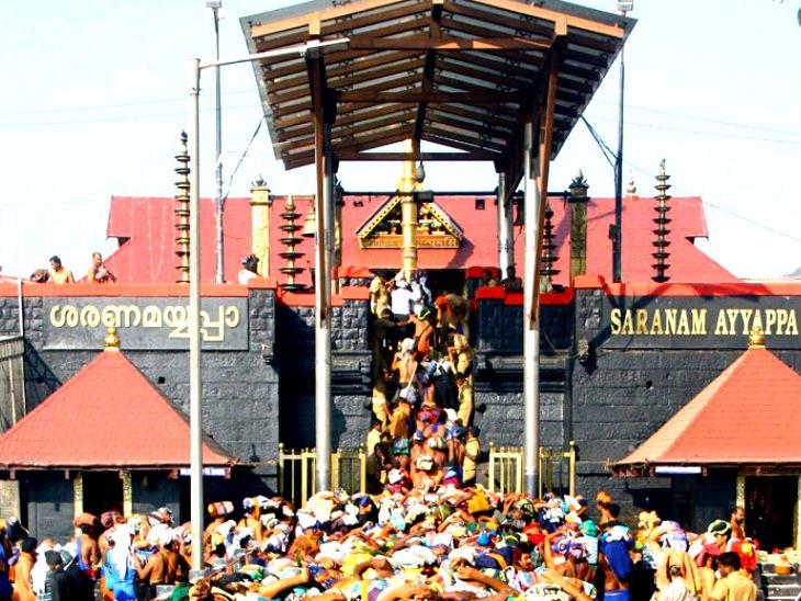 कोर्ट ने कहा- सबरीमाला मंदिर में प्रवेश की जो बंदिशें लगाई गई हैं, उन्हें अनिवार्य धार्मिक प्रथा करार नहीं दिया जा सकता। -फाइल - Dainik Bhaskar
