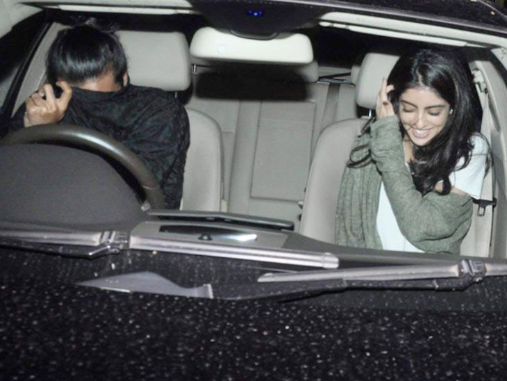 अमिताभ बच्चन की नातिन के साथ डेटिंग की खबरों पर जावेद जाफरी के बेटे ने कहा- हम अच्छे दोस्त हैं| - Dainik Bhaskar