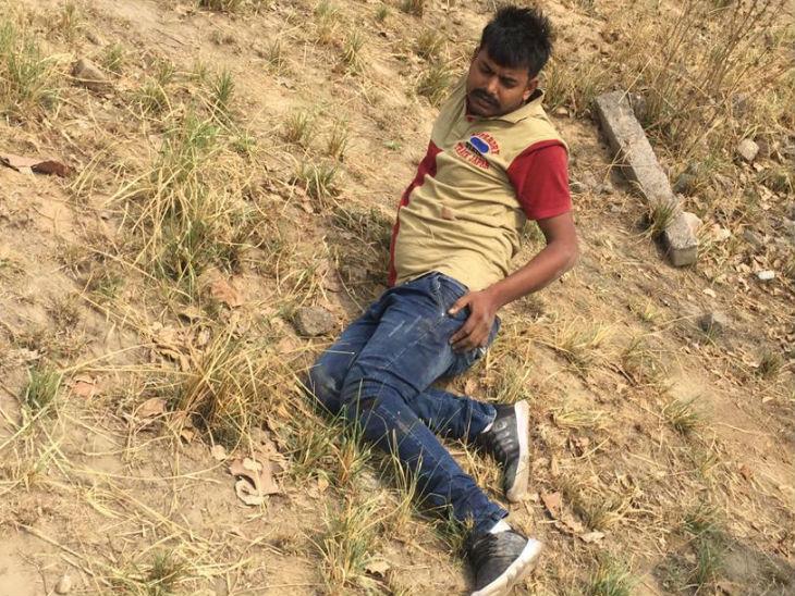 पेट्रोल पंप लूटने जा रहे मिर्ची गैंग के बदमाशों के साथ पुलिस की मुठभेड़, तीन को लगी गोली|मेरठ,Meerut - Dainik Bhaskar