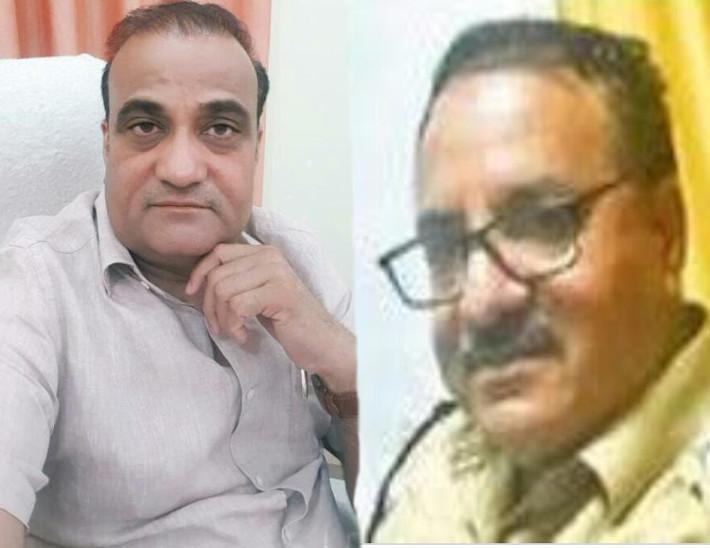 भंवरलाल, सीओ और राजेंद्र कुमार, एसपी - Dainik Bhaskar