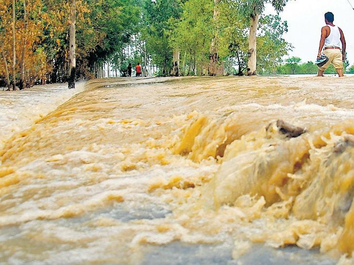 कांवड़ यात्रा से पहले उत्तर हरियाणा में झमाझम बरसात, सावन कल से|पानीपत,Panipat - Dainik Bhaskar