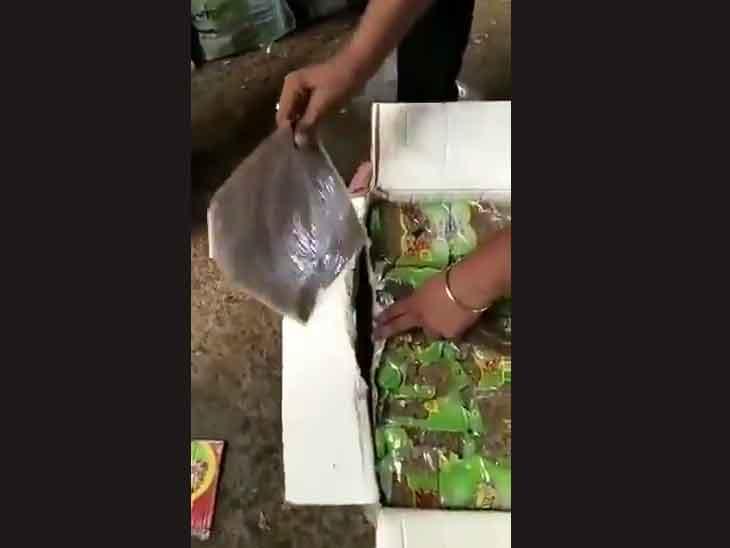 किशमिश के डिब्बों में छिपाई गई थी 200 करोड़ की हेरोइन, दिल्ली पुलिस ने सोनीपत में छापेमारी कर पकड़ी|पानीपत,Panipat - Dainik Bhaskar