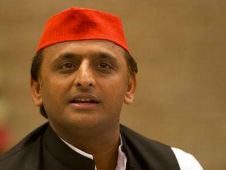 अखिलेश यादव का आरोप, उन्नाव रेप विक्टिम के साथ हुए हादसे को दबाने की कोशिश कर रही भाजपा सरकार लखनऊ,Lucknow - Dainik Bhaskar