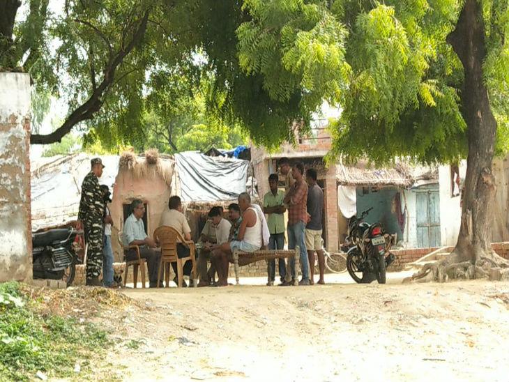 पीड़िता के गांव पहुंची सीबीआई की टीम। - Dainik Bhaskar