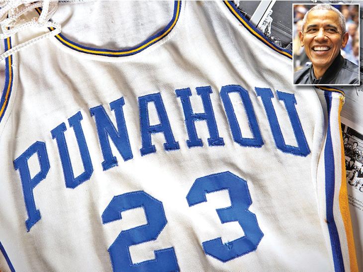 बराक ओबामा की हाई स्कूल की 39 साल पुरानी बास्केटबॉल जर्सी 85 लाख रु. में बिकी|देश,National - Dainik Bhaskar