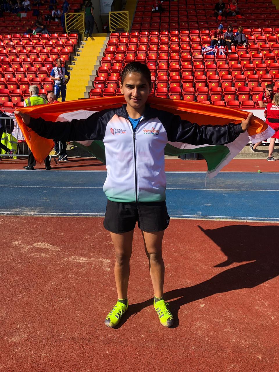 वर्ल्ड ट्रांसप्लांट गेम्स में दो गोल्ड जीतने वाली देश की पहली एथलीट बनीं। - Dainik Bhaskar