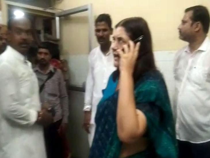 सांसद मेनका गांधी ने फोन पर दी धमकी, कहा- नौकरी और लाइसेंस दोनों ले लूंगी, दो मिनट में तुम्हारा काम तमाम हो जाएगा लखनऊ,Lucknow - Dainik Bhaskar