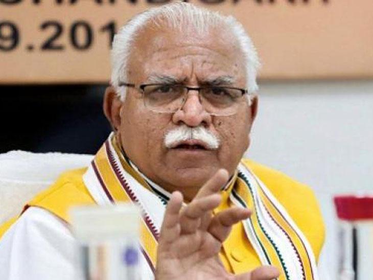 मुख्यमंत्री मनोहर लाल खट्टर। (फाइल) - Dainik Bhaskar
