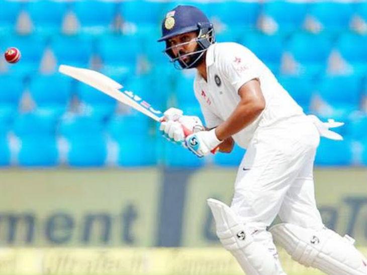 भारतीय टीम में चुने गए ओपनर रोहित अभ्यास मैच में शून्य पर आउट, लक्ष्मण बोले- नेचुरल गेम खेलें क्रिकेट,Cricket - Dainik Bhaskar