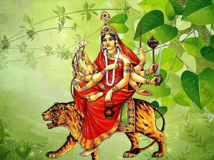 Shardiya Navratri 2019: Maa Chandraghanta Puja Vidhi Mantra, Chandraghanta  Mata Ka Mantra Importance Significance   मां चंद्रघंटा की पूजा से बढ़ती है  शक्ति और वीरता, नवरात्र के तीसरे दिन होती ...