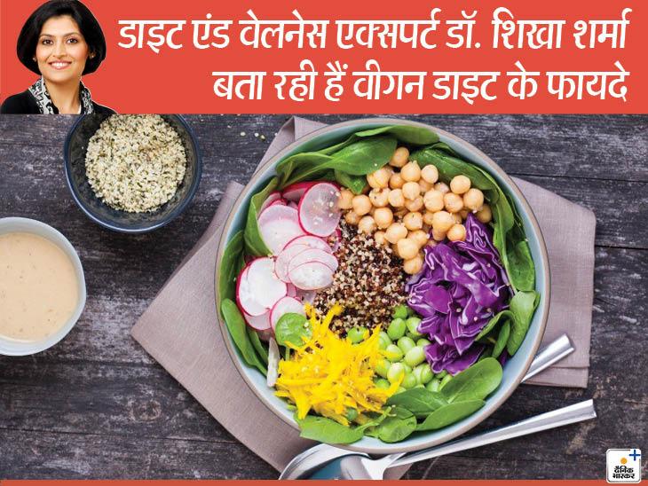 दुनिया में बढ़ा वीगन डाइट का ट्रेंड, भारतीयों की थाली में बढ़ीं फल और सब्जियां, कम हुआ घी-पनीर लाइफ & साइंस,Happy Life - Dainik Bhaskar