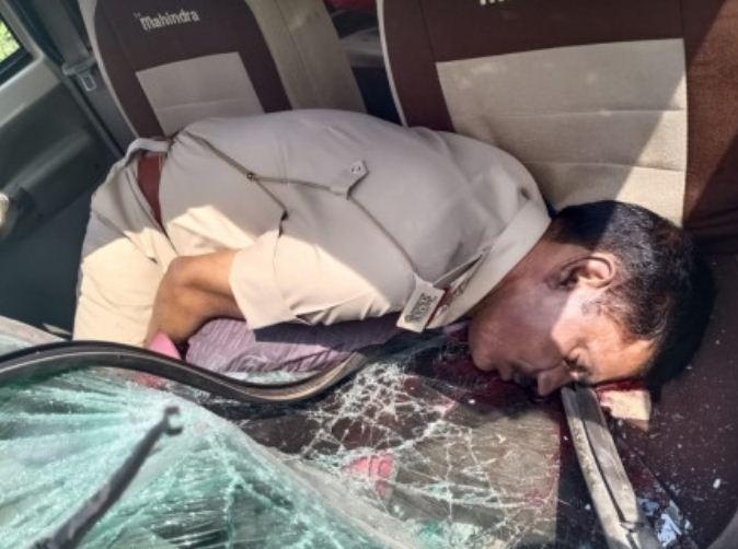 सड़क दुर्घटना में सब इंस्पेक्टर की मौत|जबलपुर,Jabalpur - Dainik Bhaskar
