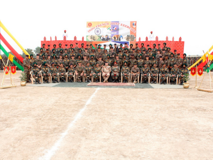 बीकानेर स्थित महाजन फील्ड फायरिंग रेंज में काउंटर टेररिज्म पर भारतीय व फ्रांसीसी सेना का युद्धाभ्यास शुरू|बीकानेर,Bikaner - Dainik Bhaskar