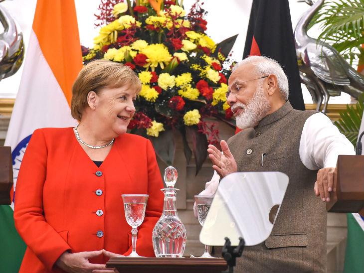 जर्मन चांसलर मर्केल ने कहा- कश्मीर में हालात अच्छे नहीं, उम्मीद है कि इसमें बदलाव होगा|देश,National - Dainik Bhaskar