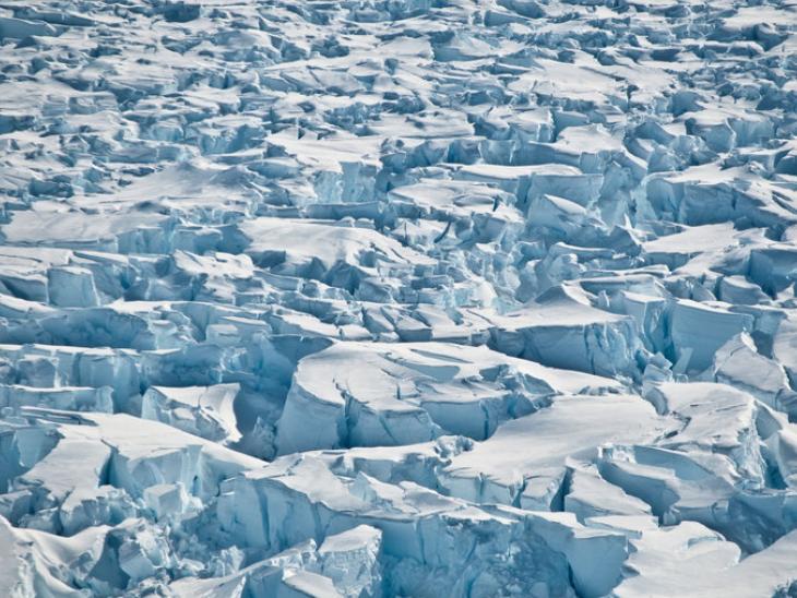 15 लाख साल पुरानी बर्फ के नमूनों से वैज्ञानिक जलवायु परिवर्तन के बारे में पता लगाएंगे|विदेश,International - Dainik Bhaskar