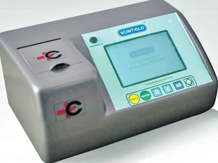 दो सेकंड में होगी यूरिन में प्रोटीन की जांच, खर्च मात्र 40 रुपए|इंदौर,Indore - Dainik Bhaskar