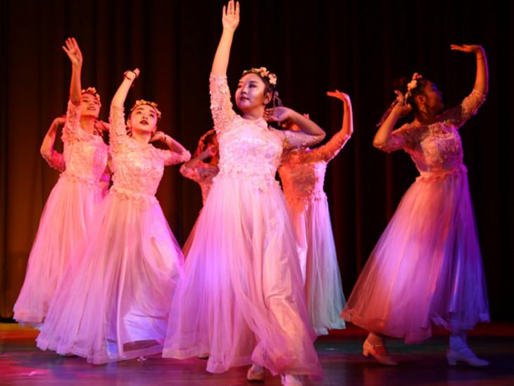 नृत्य प्रस्तुति भारतीय सांस्कृतिक संबंध परिषद के सहयोग से आदिवासी लोक कला एवं बोली विकास अकादमी, मध्यप्रदेश संस्कृति परिषद की ओर से हुई।