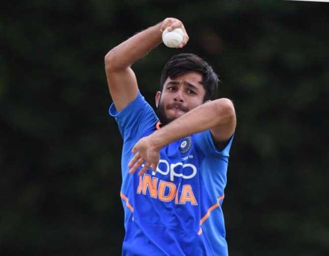 जोधपुर के रवि विश्नोई को पंजाब ने 2 करोड़ में खरीदा, वो अंडर 19 वर्ल्ड कप भी खेलेंगे जोधपुर,Jodhpur - Dainik Bhaskar