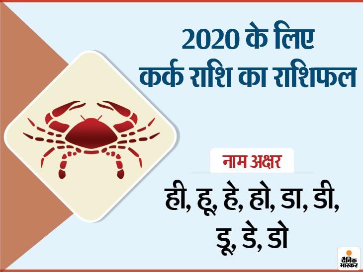 कर्क राशि के लोगों को 2020 में कड़ी मेहनत करनी पड़ सकती है, अलर्ट रहकर करना होगा काम|जीवन मंत्र,Jeevan Mantra - Dainik Bhaskar
