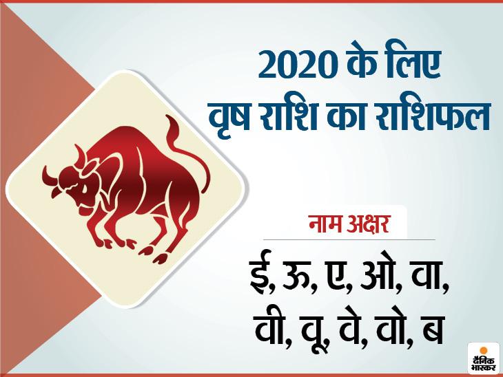वृषभ राशि के लोगों को 2020 में सुख-समृद्धि, उन्नति, यात्राएं, जीवन साथी का सहयोग मिलने के योग|जीवन मंत्र,Jeevan Mantra - Dainik Bhaskar