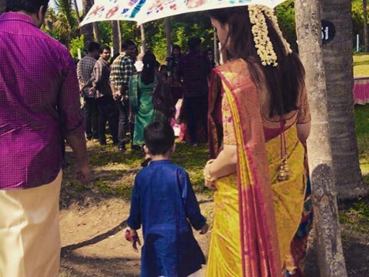 सौंदर्या ने विशगन से 2019 में दूसरी शादी की है।
