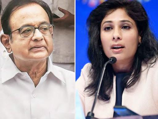चिदंबरम ने कहा- आईएमएफ और गीता गोपीनाथ को मोदी सरकार के हमले के लिए तैयार रहना चाहिए देश,National - Dainik Bhaskar