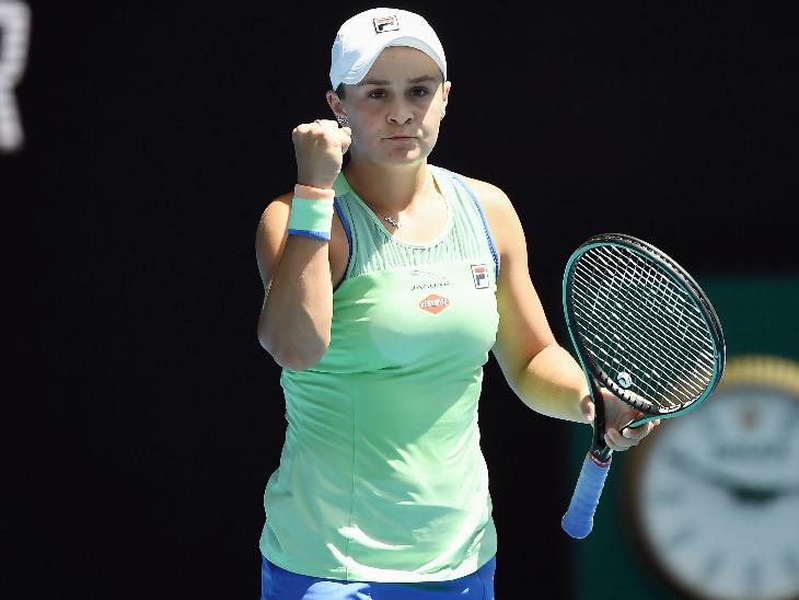 नंबर-1 महिला खिलाड़ी ऑस्ट्रेलिया की एश्ले बार्टी पहली बार सेमीफाइनल में पहुंचने में सफल रहीं।