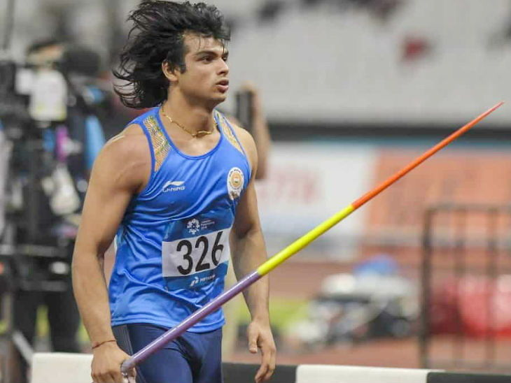चोट से उबरे नीरज चोपड़ा ने 87.86 मी भाला फेंककर ओलिंपिक के लिए क्वालिफाई किया देश,National - Dainik Bhaskar