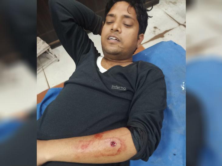 लखनऊ में विश्व हिंदू महासभा के अध्यक्ष रंजीत बच्चन की गोली मारकर हत्या, सुबह टहलने के दौरान हुआ हमला|लखनऊ,Lucknow - Dainik Bhaskar