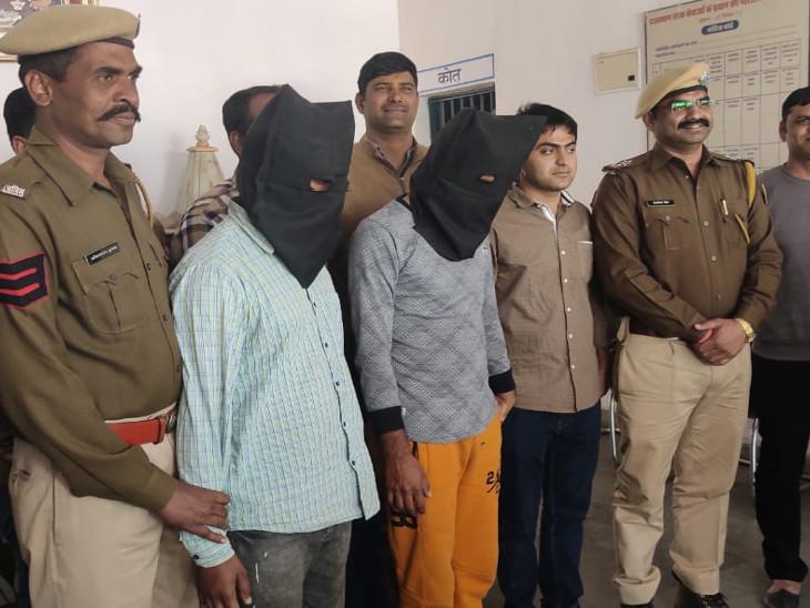 रुपयों की जरुरत के लिए यूट्यूब पर वीडियो देख सीखा गैस कटर से एटीएम काटना, पंजाब में पकड़े गए दो बदमाश|उदयपुर,Udaipur - Dainik Bhaskar