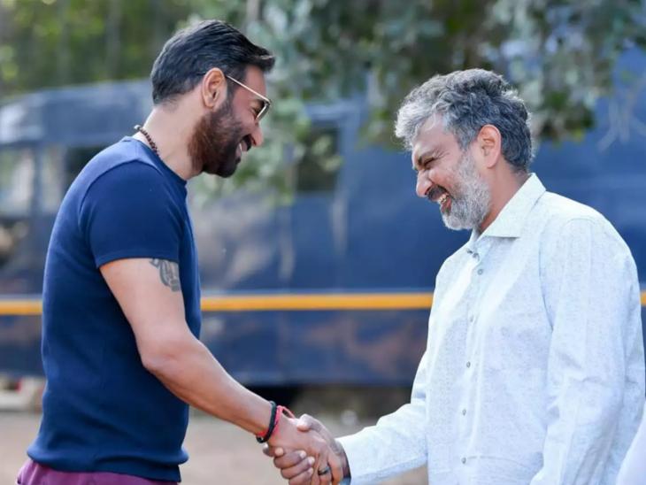 अजय देवगन ने दोस्ती की खातिर राजामौली की 'आरआरआर' के लिए नहीं ली फीस, प्रोड्यूसर का ऑफर ठुकराया|बॉलीवुड,Bollywood - Dainik Bhaskar