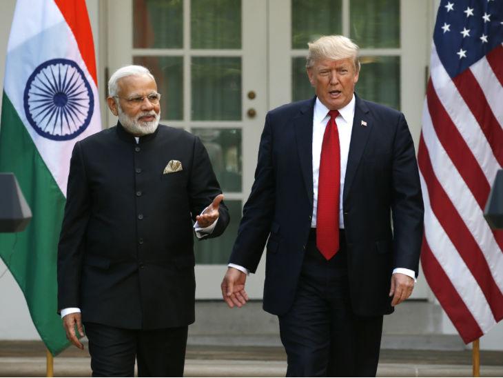 राष्ट्रपति ट्रम्प बोले- भारत का बर्ताव हमारे साथ अच्छा नहीं, लेकिन मैं प्रधानमंत्री मोदी को पसंद करता हूं|विदेश,International - Dainik Bhaskar