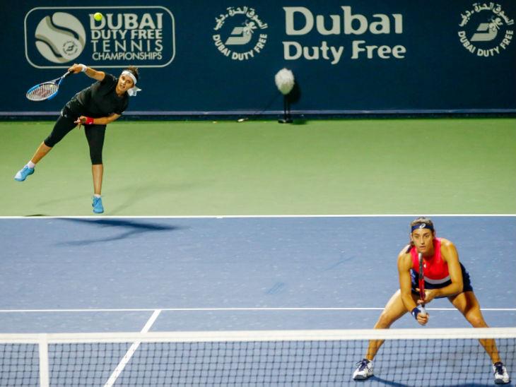 सानिया और कैरोलिन की जोड़ी महिला डबल्स के दूसरे राउंड में बाहर, शाइशाई-बारबोरा ने हराया स्पोर्ट्स,Sports - Dainik Bhaskar
